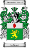 Mcginnis Family Crest